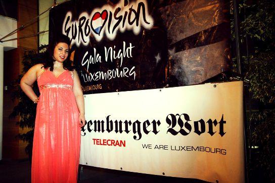 2013 yılında ki şarkı yarışmasının birincisi Nadine Rodrigues  (Fotoğraf: Manuel Dias)
