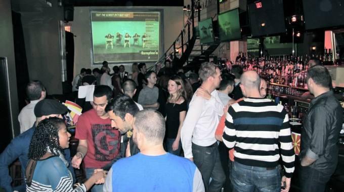 2013 Kasım ayında düzenlenen europhoria partisi
