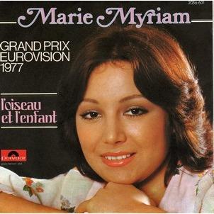 Marie Myriam Eurovision 1977
