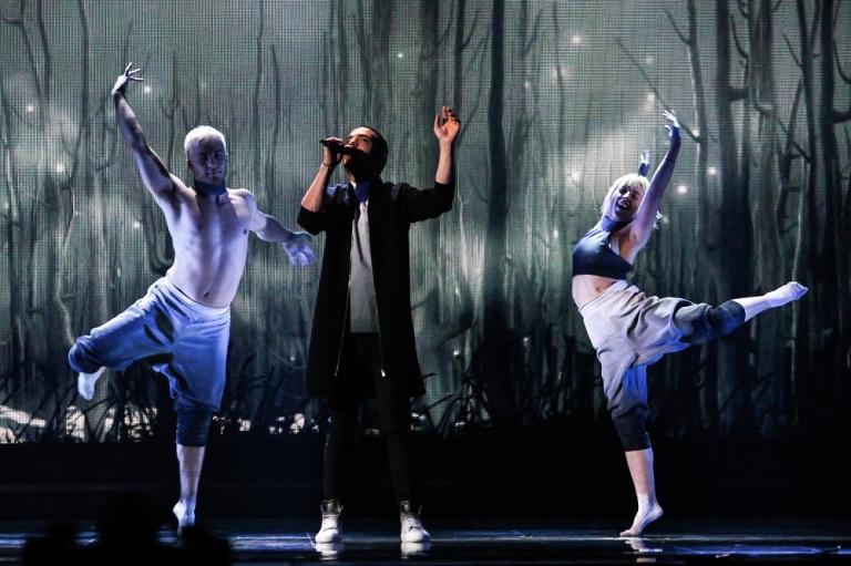 Elnur'un provalardaki performansından bir kare.