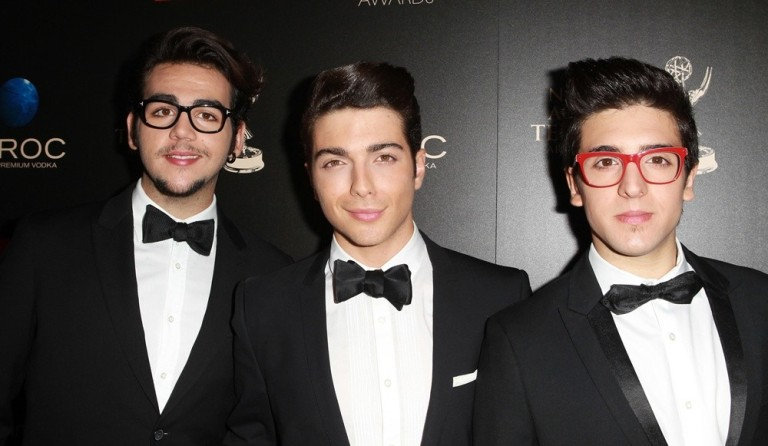 The 40th Annual Daytime Emmy Awards sponsored by CIROC Vodka held at The Beverly Hilton Hotel - Arrivals Featuring: Ignazio Boschetto,Gianluca Giboble,Piero Barone Where: Beverly Hills, California, United States When: 16 Jun 2013 Credit: FayesVision/WENN.com