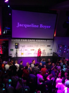 Jacqueline Boyer de Eurocafe'de sahne alan isimlerdendi.