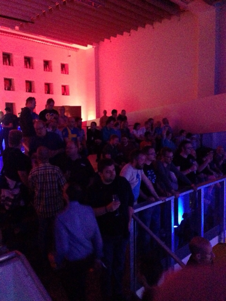 Eurocafe her daim kalabalık.